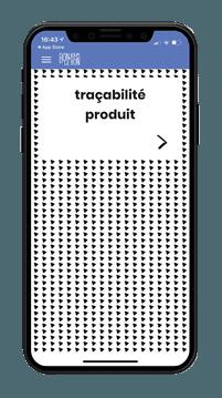 Application blockchain traçabilité Bonjour Le Bon