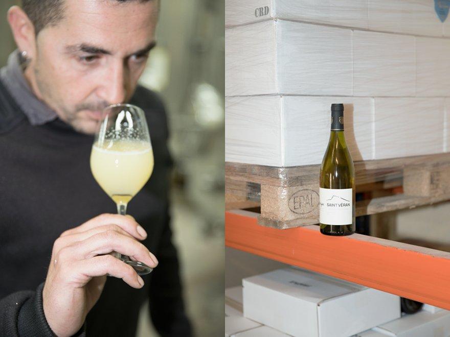 Production vin Saint-Véran Domaine Clos Chevigné