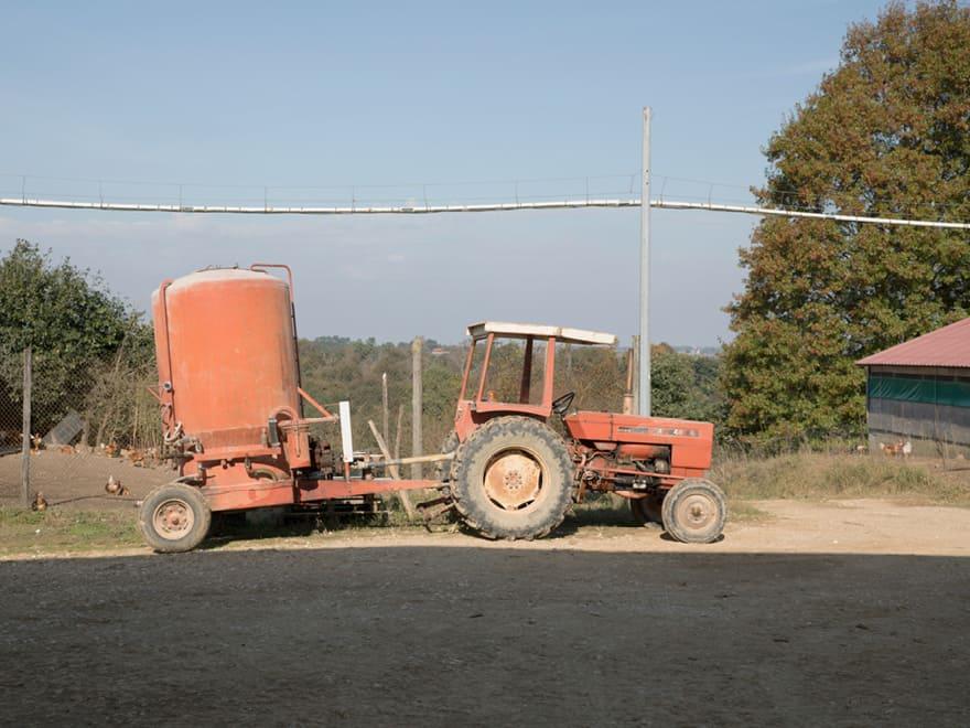 Tracteur Ferme du Pillon